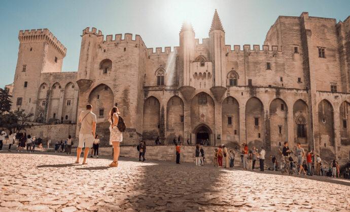 Panorama Palais des Papes Avignon