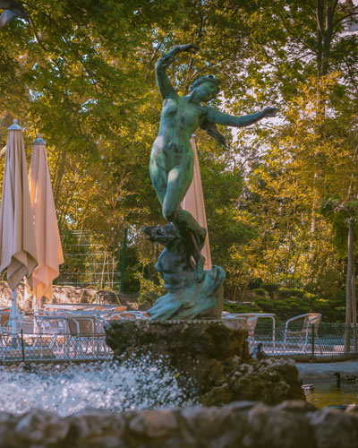 Doms Garden in Avignon
