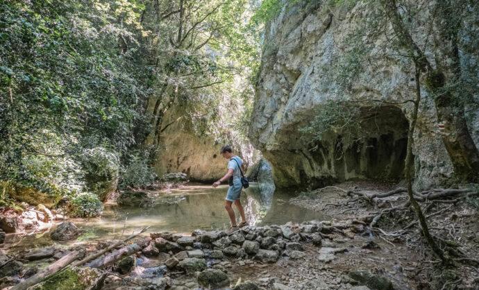 Randonnée dans les Gorges de la Nesque