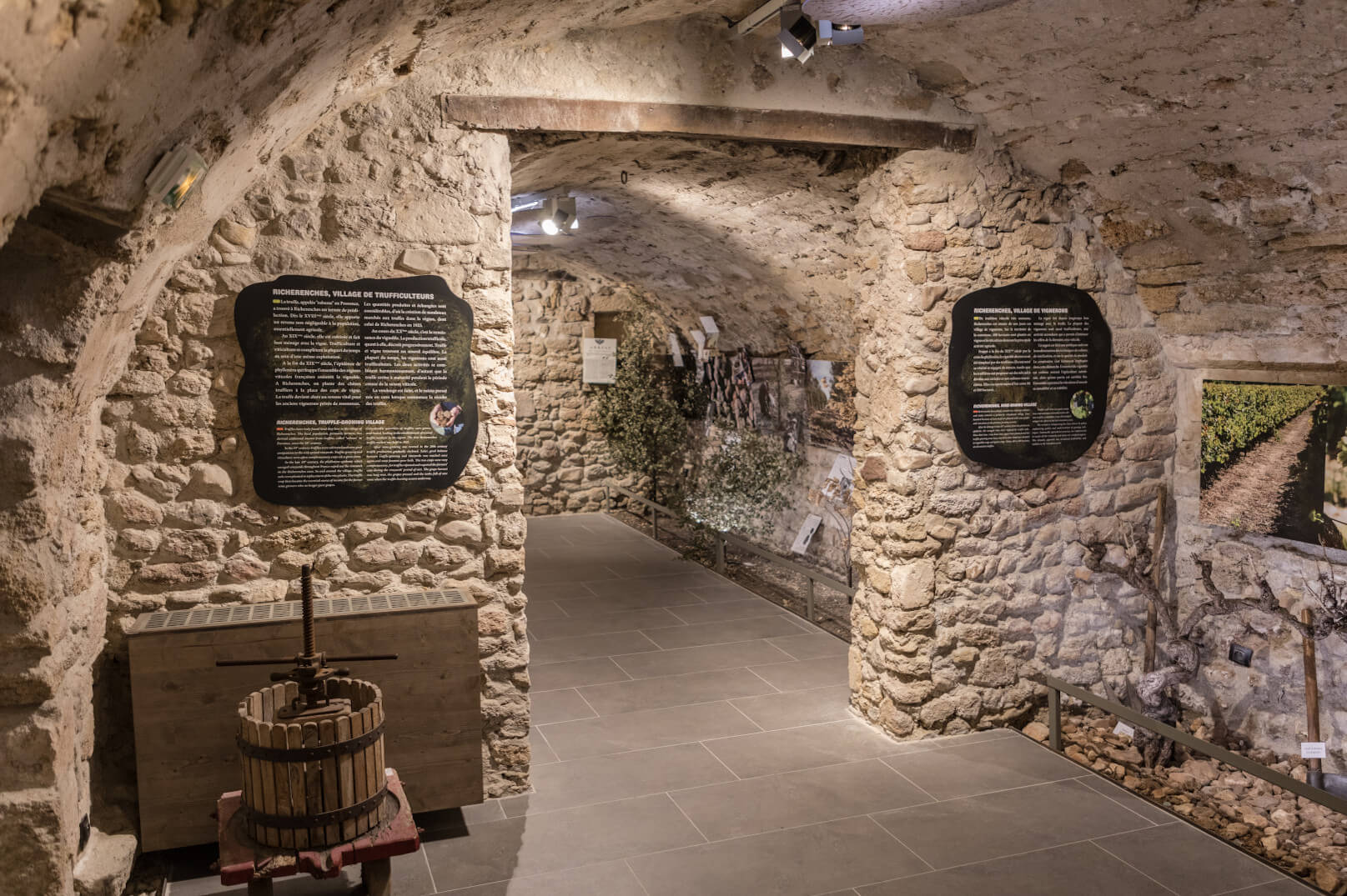 Truffle Museum in Richerenches