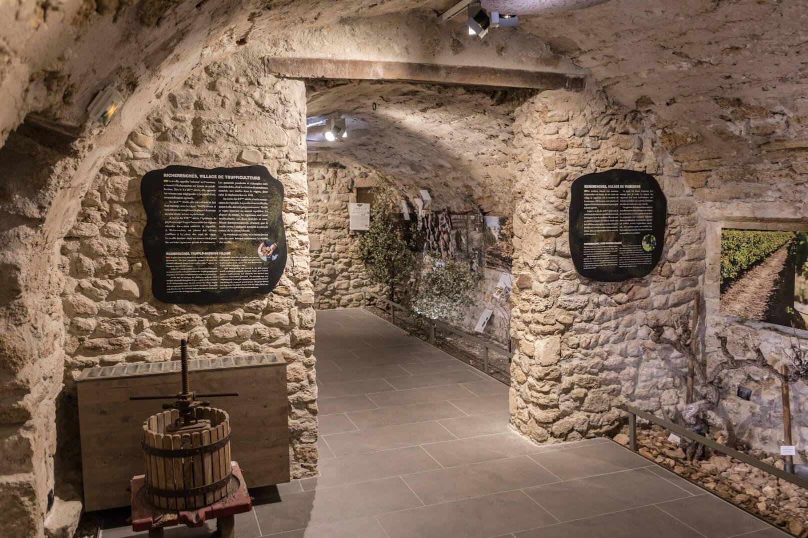 Musée de la truffe à Richerenches ©KESSLER G