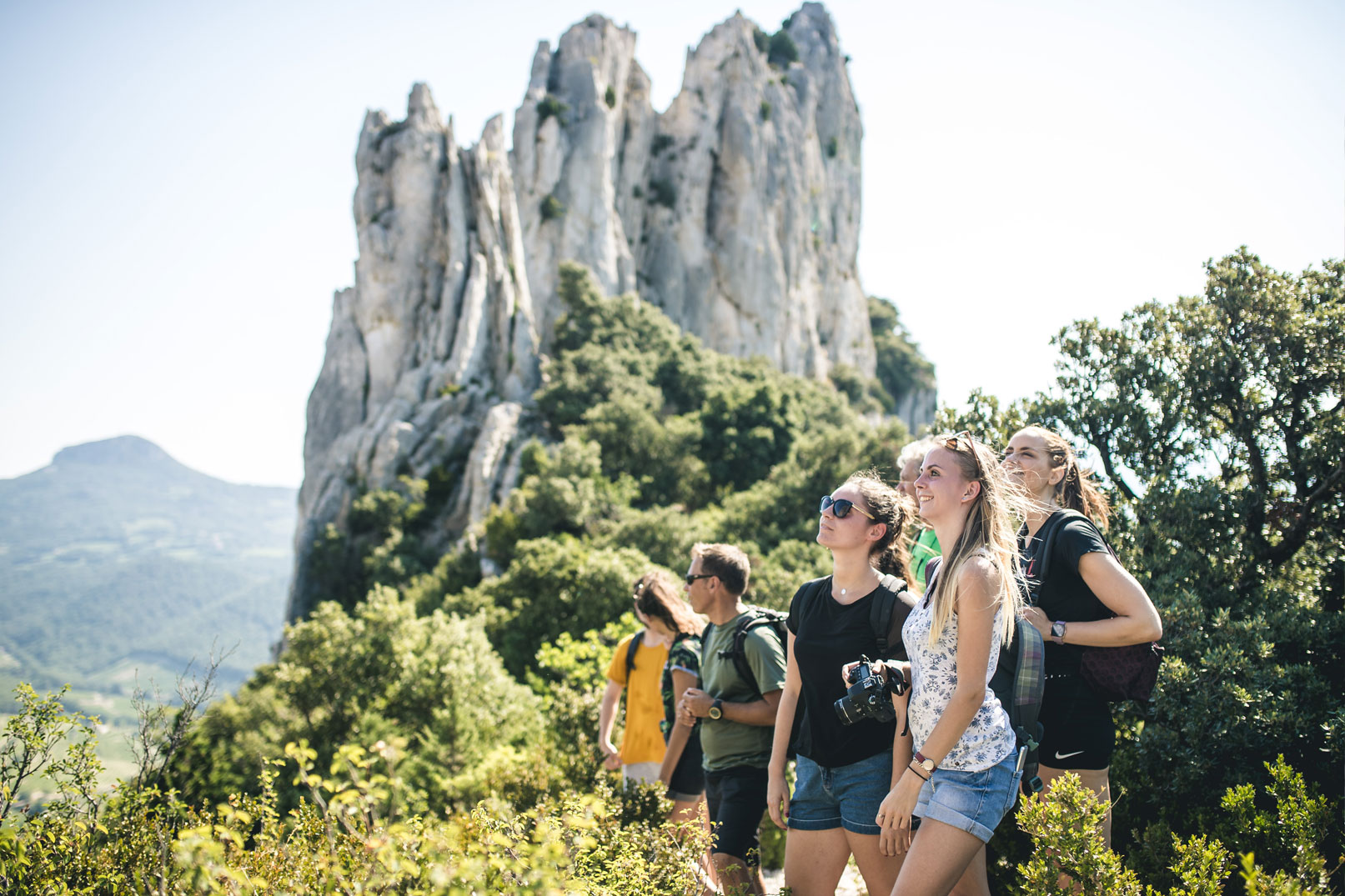 Hike in the Dentelles de Montmirail