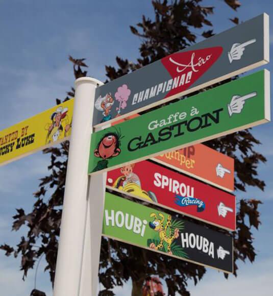 Parc Spirou in Monteux ©ABRY H