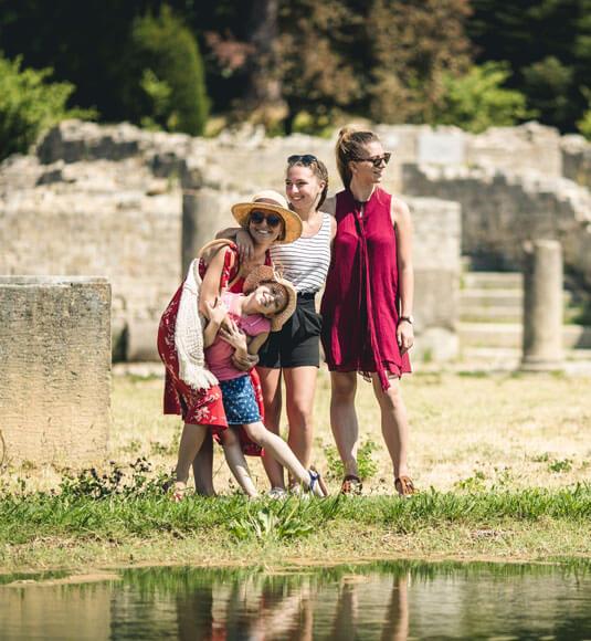 Ruins of the Roman city of Vaison-la-Romaine ©OBRIEN T