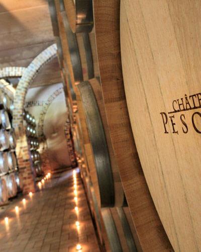 Château Pesquié wine cellar
