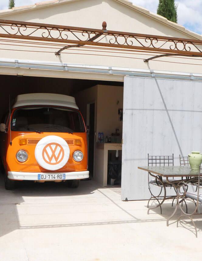 Kombi VW - Gîte de la Tourade