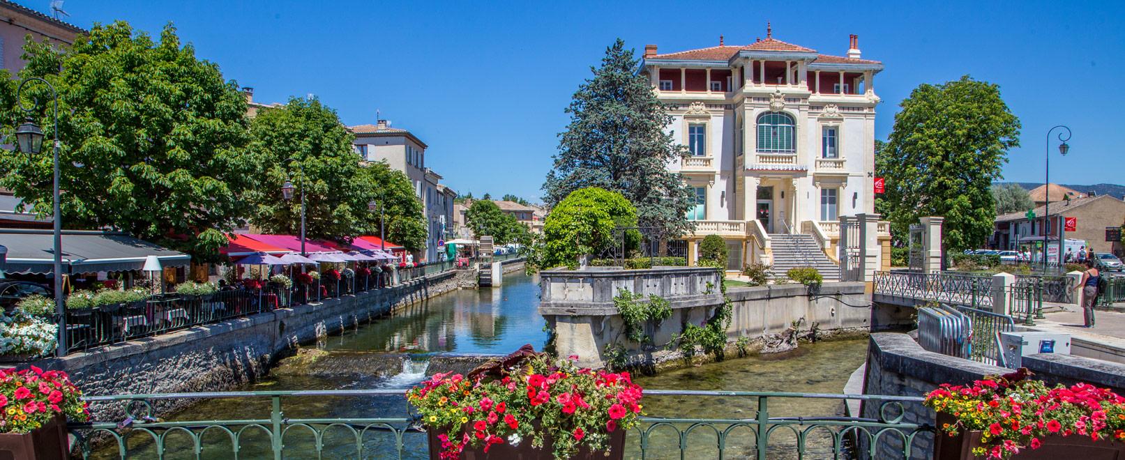 L'Isle-sur-la-Sorgue, a timeless town