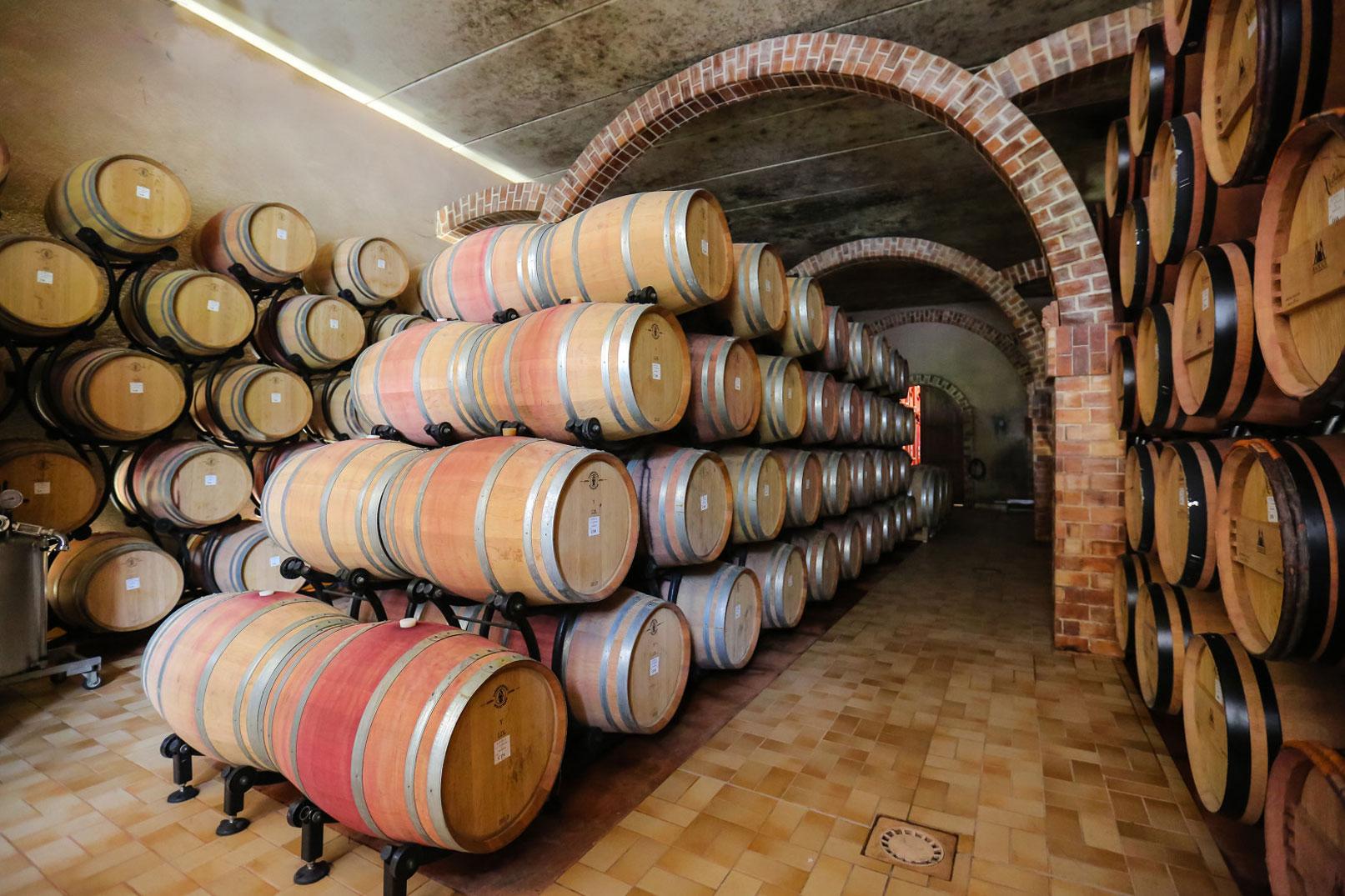 Wine cellar @ On Met les Voiles