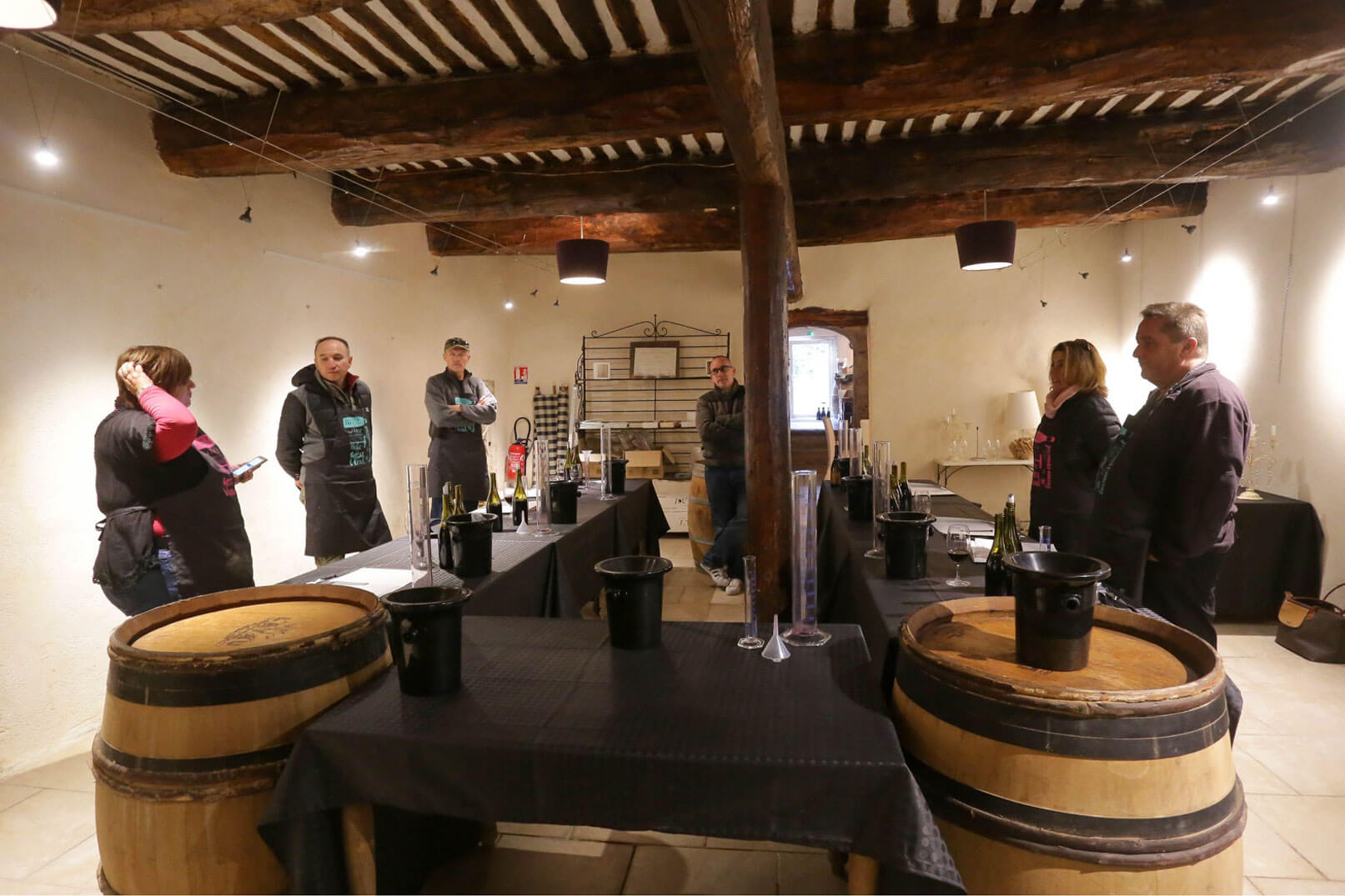 Guided tours and tastings at Vaucluse vineyards @ Hocquel