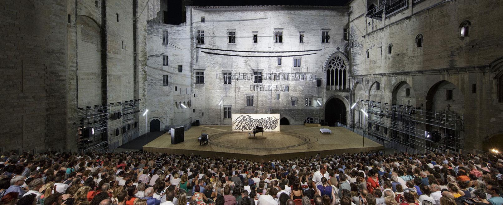 Avignon Festival – Pope's Palace © Raynaud-de-Lage
