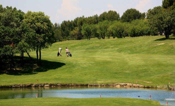 Golf in Vaucluse @ Hocquel