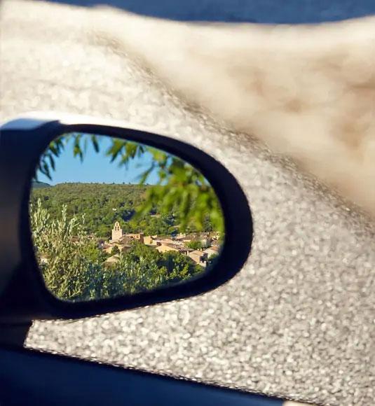 car mirror @ Coquard
