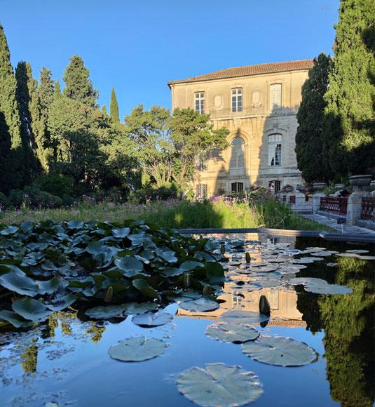 Jardin de l'abbaye st Andre @ Abry