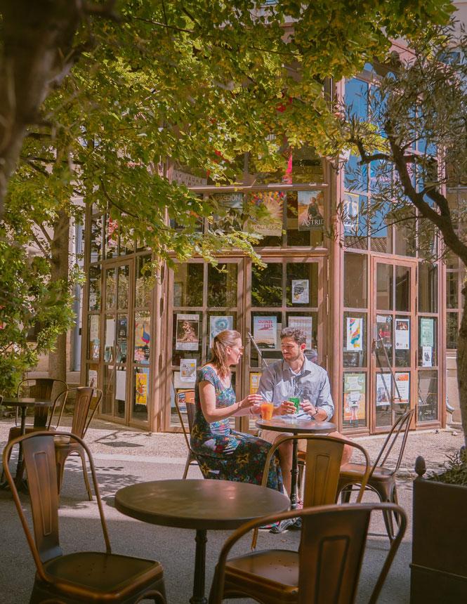 Terrace in Avignon @ Planque