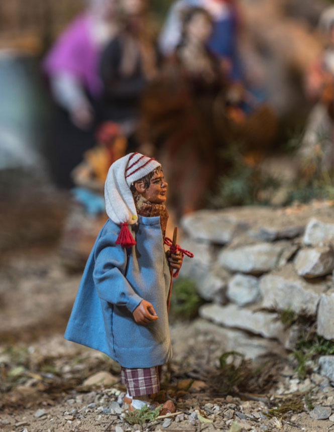 Santon from the Provençal nativity scene