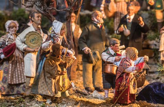 Santons from the Provençal nativity scene