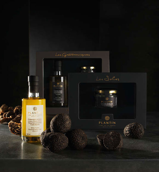 Truffle products by Plantin