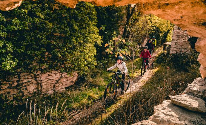 Mountain biking in Provence