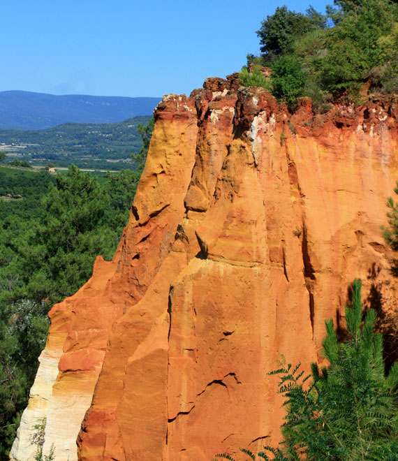 Ochres in Roussillon