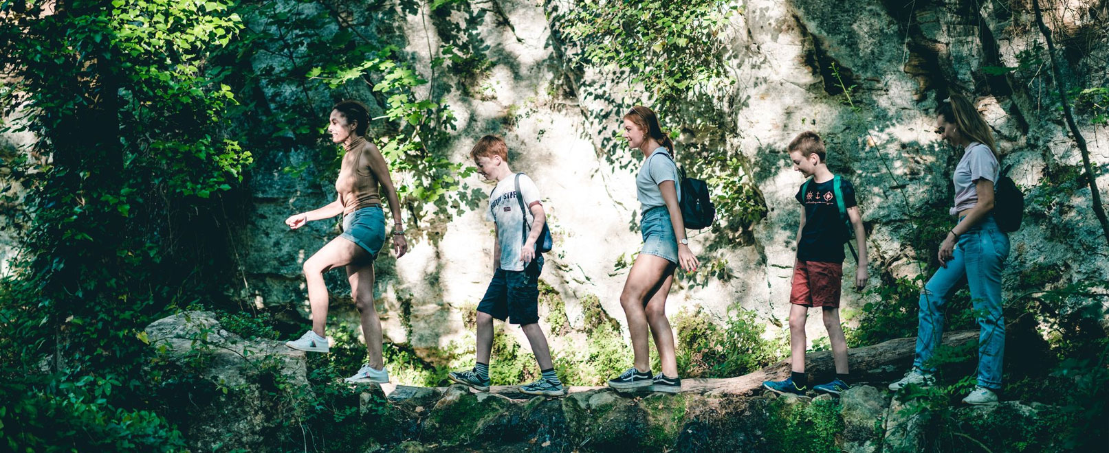 Hiking in Provence © O'Brien
