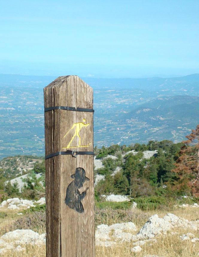 The Jean-Henri Fabre path