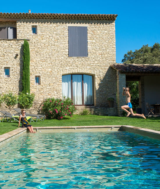 Swimming pool in Provence