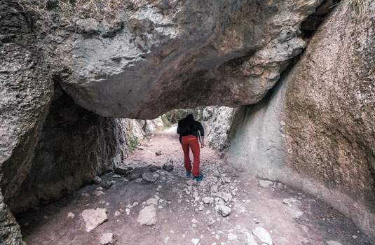 Canyon Gorges du Regalon Luberon