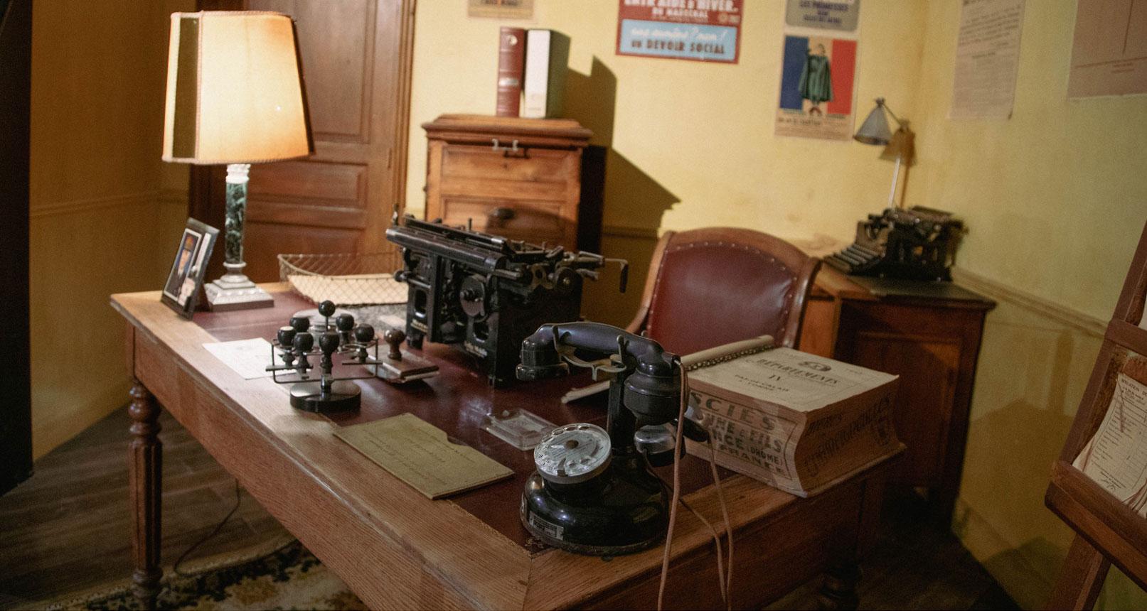 Office Jean Garcin 39-45 museum
