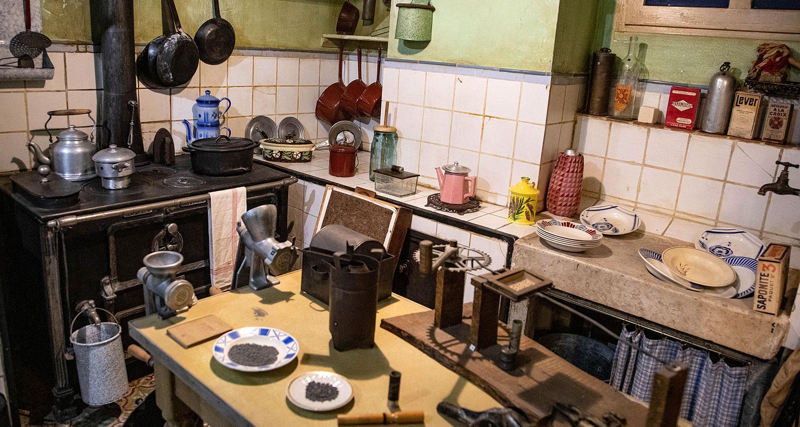 Kitchen Jean Garcin 39-45 museum