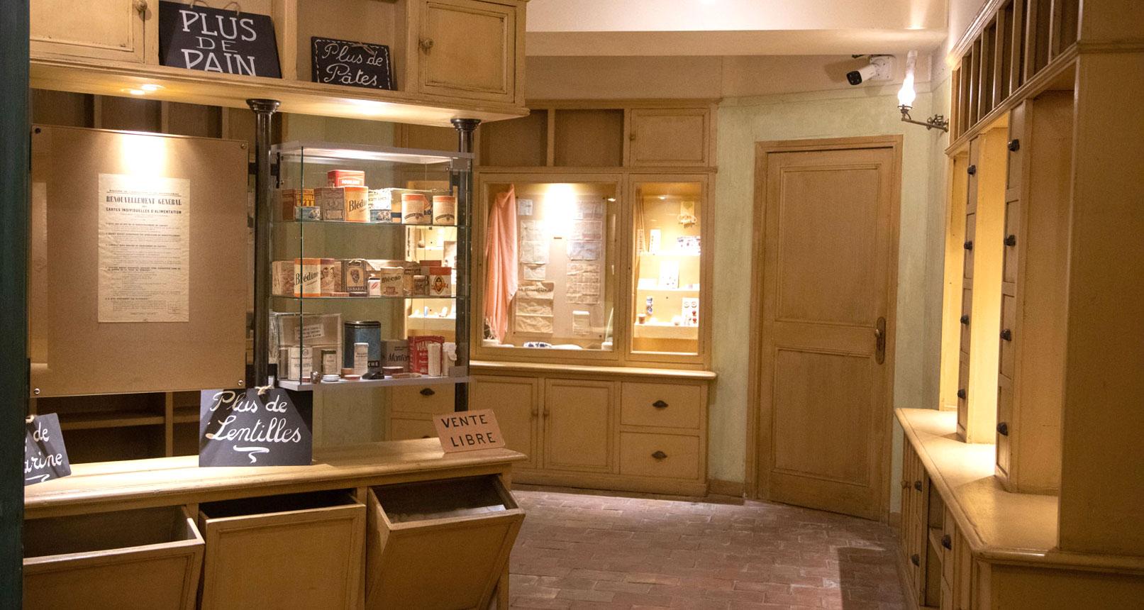 Grocery Jean Garcin 39-45 museum