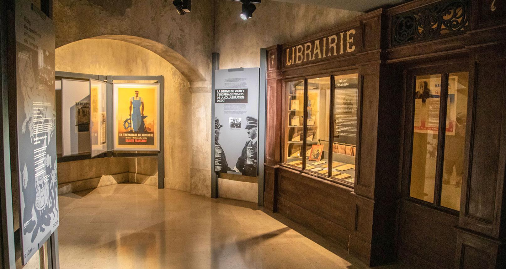Librairy Jean Garcin 39-45 museum